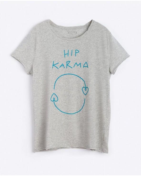 Tee Corita Basic Hip Karma Gris AW0011-56