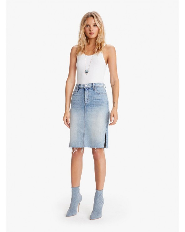 FALDA DENIM MOTHER THE HIGH WAISTED SLICE
