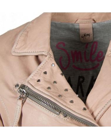 CAZADORA PIEL GIPSY JUST SMILE