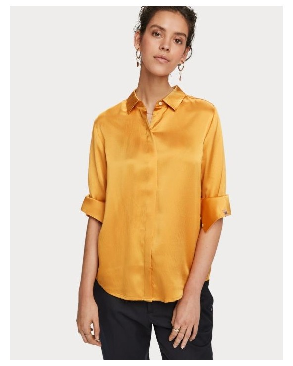 CAMISA SEDA MAISON SCOTCH 156033