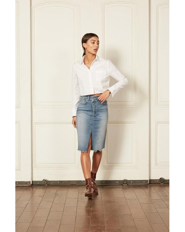 FALDA ELÁSTICA DENIM BOYISH JEANS THE ANDY SENSO