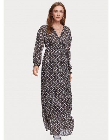 VESTIDO ESTAMPADO MAISON SCOTCH 159417