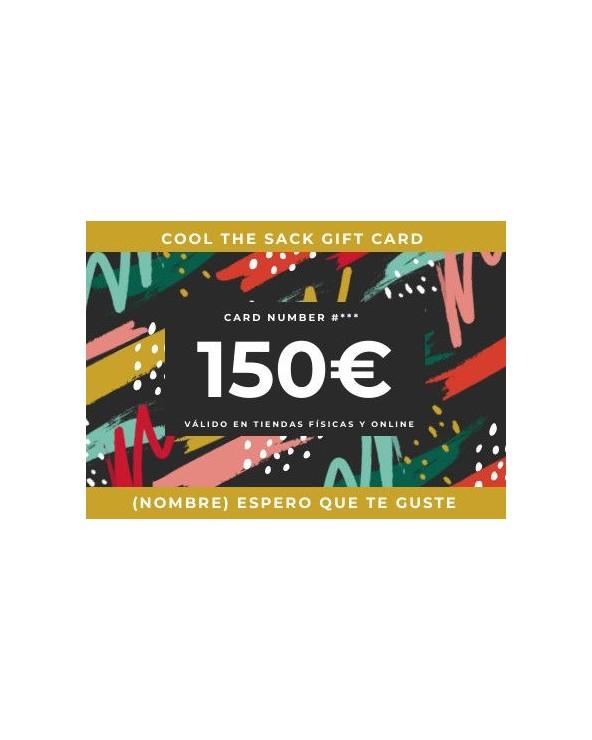 TARJETA REGALO COOL THE SACK 100€