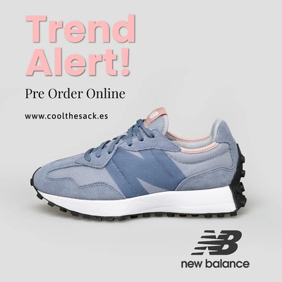 SOLD OUT!   NEW IN NEW BALANCE 💙  El Best Seller 327 en nuevo color!  PRE ORDER NOW  #newbalance #newbalance327 #newbalanceonline #newbalancemadrid #newnow #coolthesackonline #multibrandstores #cool