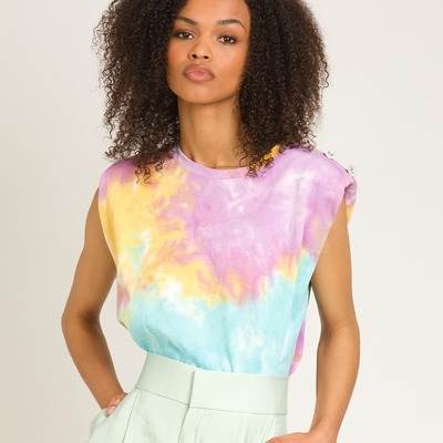 PRE ORDER ANGE 💜 Tie Dye Tshirt  #angeparis #ange #coolthesack #shoppingnow #newcollection #newnow #multibrandstores #shoppingnow
